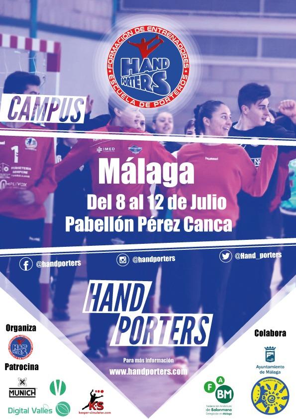 II Campus Hand Porters Andalucía 2019 en Málaga