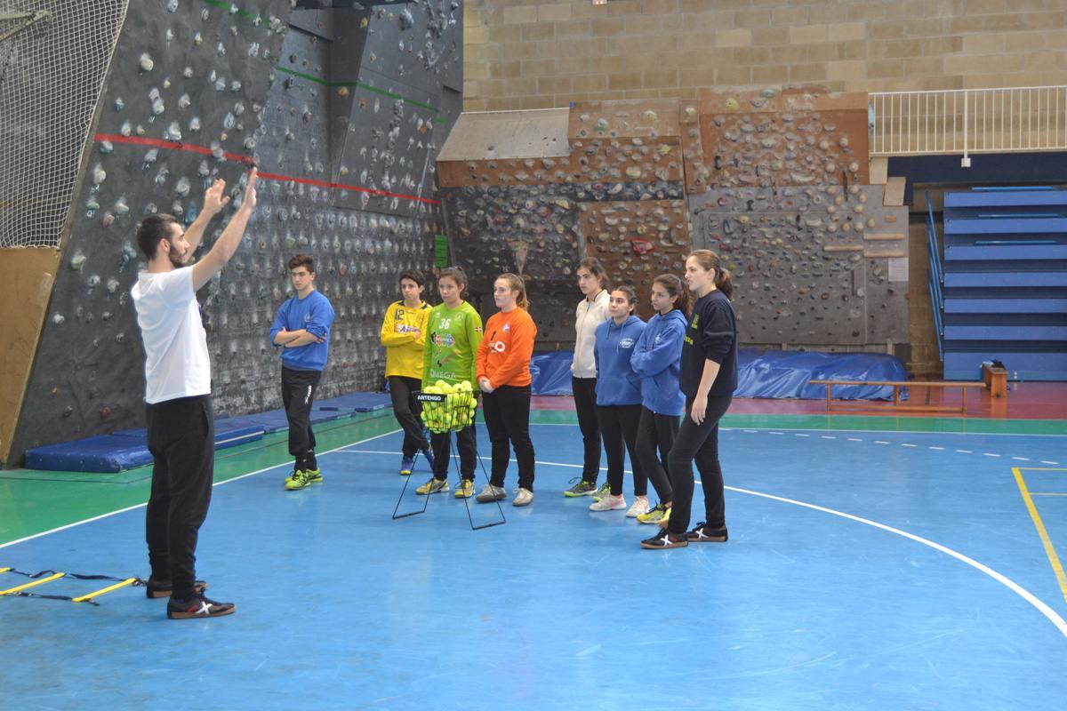 I Campus Hand Porters Euskadi 2019 en Leioa